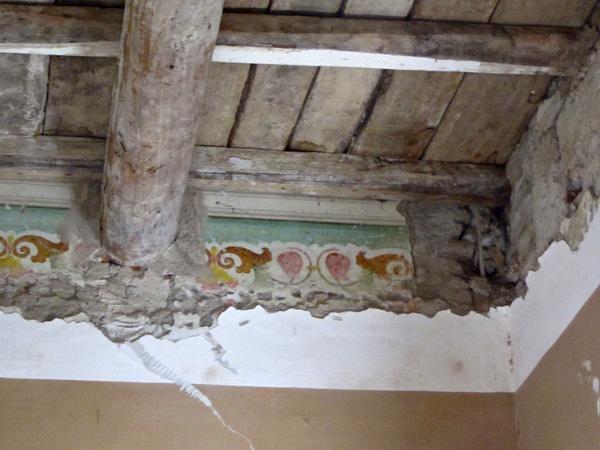 6 affreschi sala