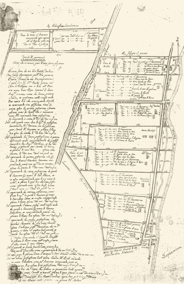 Rilievo Ruini 1561
