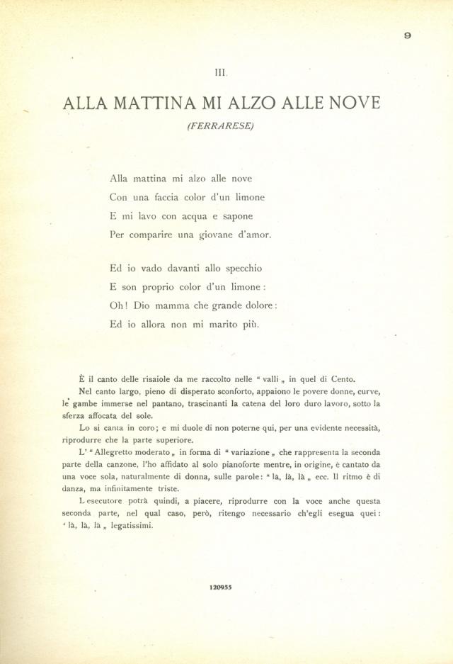 Canti Emiliani Mattina 1